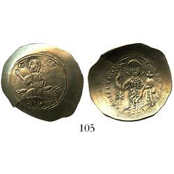 Byzantine Empire, electrum histamenon nomisma (scyphate), Nicephorus III Botianes, 1078-81 AD, Const