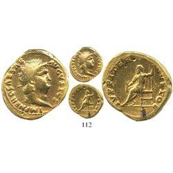 Roman Empire, AV aureus, Nero, 54-68 AD, Rome mint.
