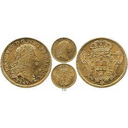 Brazil (Rio mint), 6400 reis, Joao V, 1749-R.