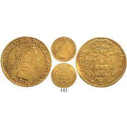 Brazil (Rio mint), 1600 reis, Joao V, 1728-R, very rare.