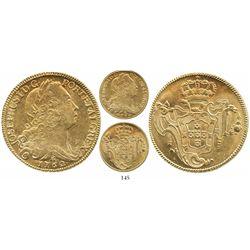 Brazil (Rio mint), 6400 reis, Jose I, 1762/1-R.