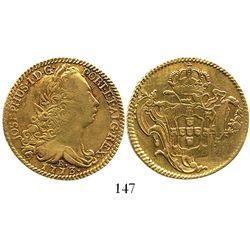 Brazil (Rio mint), 6400 reis, Jose I, 1773-R.