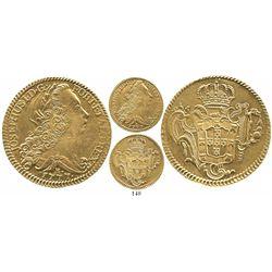 Brazil (Rio mint), 6400 reis, Jose I, 1777-R.