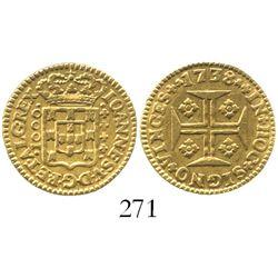 Portugal (Lisbon), 1000 reis, 1738.
