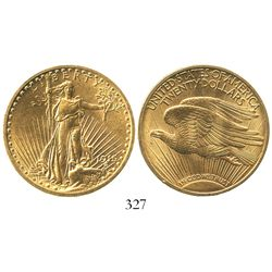 USA (Philadelphia mint), $20 (double eagle) St. Gaudens, 1915.