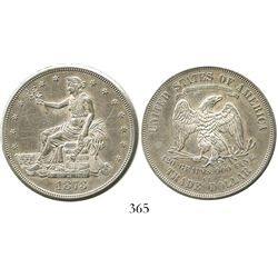 USA (Carson City mint), trade dollar, 1873-CC.
