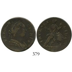 USA (state coinage), Vermont, (half cent) token, 1788.