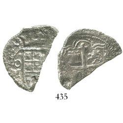 Mexico City, Mexico, cob 4 reales, (16)20(D), Grade 3.
