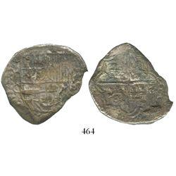 Potosi, Bolivia, cob 8 reales, (16)19T, Grade 2.