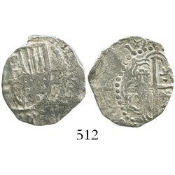 Potosi, Bolivia, cob 2 reales, (1)619(T), Grade 2.