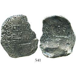 Mexico City, Mexico, cob 8 reales, 162(?)D.