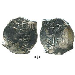 Mexico City, Mexico, cob 4 reales, (16)24D, rare.