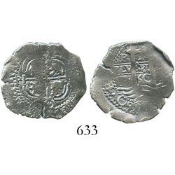 Potosi, Bolivia, cob 1 real, 1660E.