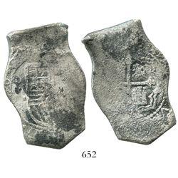 Mexico City, Mexico, cob 8 reales, 168(?)(L).