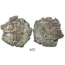Potosi, Bolivia, cob 8 reales, 1701Y.