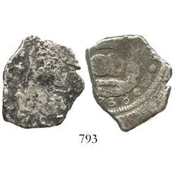 Guatemala, cob 4 reales, (1)738(J), scarce provenance.