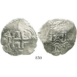 Potosi, Bolivia, cob 8 reales, 1726Y, (Louis I).
