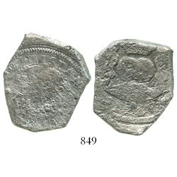 Guatemala, cob 8 reales, 1737(J).