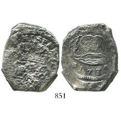 Guatemala, cob 8 reales, 1739(J).