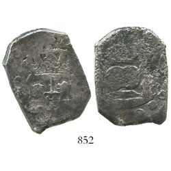 Guatemala, cob 8 reales, (174)0J.