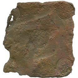 "Sweden (Avesta mint), copper ""plate money"" 2 dalers, Fredrik I, 1750."