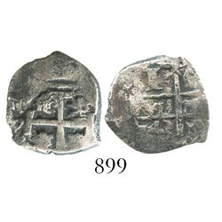 Potosi, Bolivia, cob 1 real, 1743C.