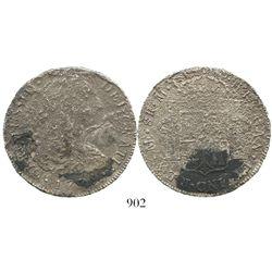 Lima, Peru, bust 8 reales, Charles III, 1779M(J).