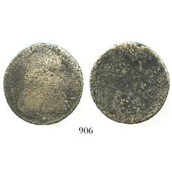 France, 1/2 ecu, Louis XV, mint and date not visible.