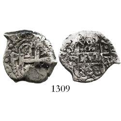 Potosi, Bolivia, cob 2 reales, 1760q.