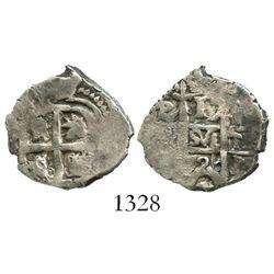 Potosi, Bolivia, cob 1 real, 1726Y, Louis I.