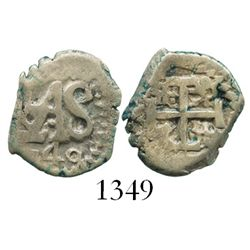 Potosi, Bolivia, cob 1/2 real, 1740.