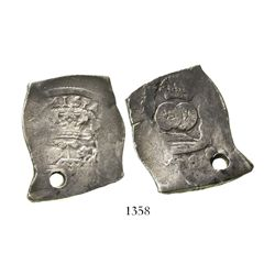 Guatemala, cob 8 reales, (17)39(J).