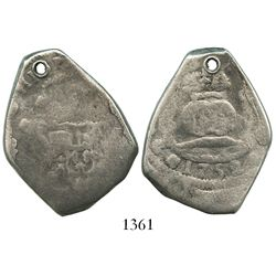 Guatemala, cob 8 reales, 1752J.
