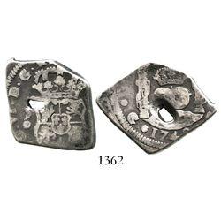 Guatemala, cob 4 reales, 1748J.