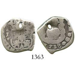 Guatemala, cob 2 reales, 1738J.