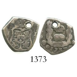 Guatemala, cob 1 real, 1737J.