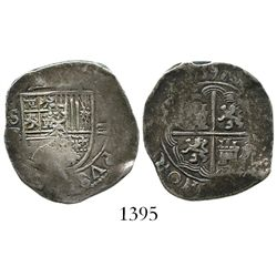 Seville, Spain, cob 2 reales, 1597B.