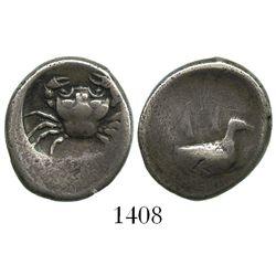 Akragas, Sicily, AR didrachm, ca. 482-474 BC.