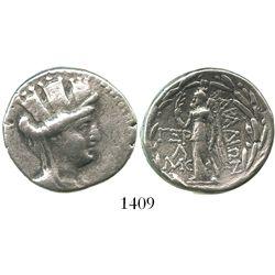 Arados, AR tetradrachm, ca. 146-37 BC.