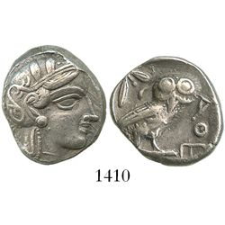 Attica, Athens, AR tetradrachm, 454-409 BC.