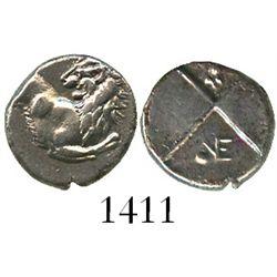 Thrace, Cherronesos, AR hemidrachm, ca. 400-350 BC.