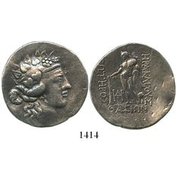 Islands of Thrace, Thasos, AR tetradrachm, ca. 168/7 to 90/80 BC.