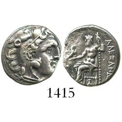 Kings of Macedon, AR drachm, Alexander III (the Great), 336-323 BC.