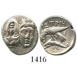 Moesia, Istros, AR drachm, ca. 4th century BC.