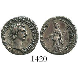Roman Empire, AR denarius, Nerva, 96-98 AD.