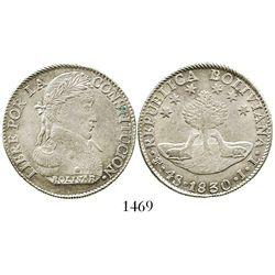 Potosi, Bolivia, 4 soles, 1830JL.