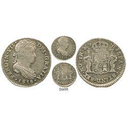 Guatemala, bust 1 real, Ferdinand VII, 1818M.