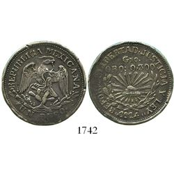 Guerrero, Mexico (Zapata), 1 peso, 1914-GRO.
