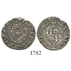 Mallorca, Spain, 1 real, Philip II (1556-98), rare.