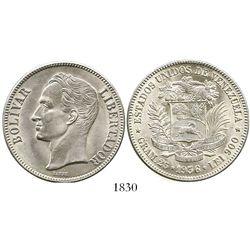 Venezuela, (5 bolivares), 1936.